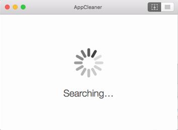 AppCleaner 検索中